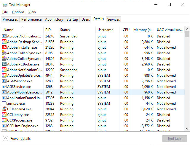 Guide to Task Manager